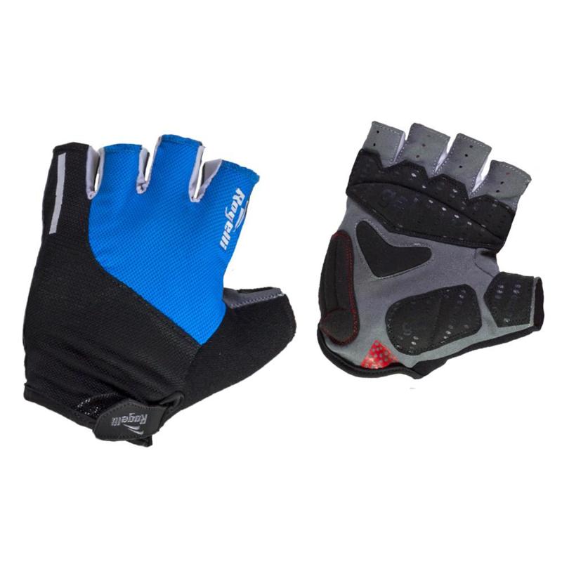Rogelli Rockford Fietshandschoenen Blauw/Zwart/Wit - Maat S