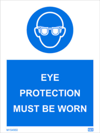 Imo sign eye protection must be worn