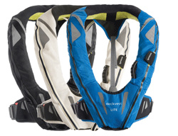 Spinlock life jacket deckvest light