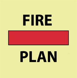 Imo sign fire control plan