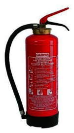 Powder - Fire Extinguisher GLORIA P6 Easy