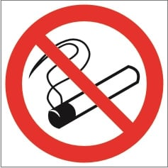 Imo sign no smoking