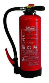 Powder - Fire Extinguisher GLORIA PSE9G