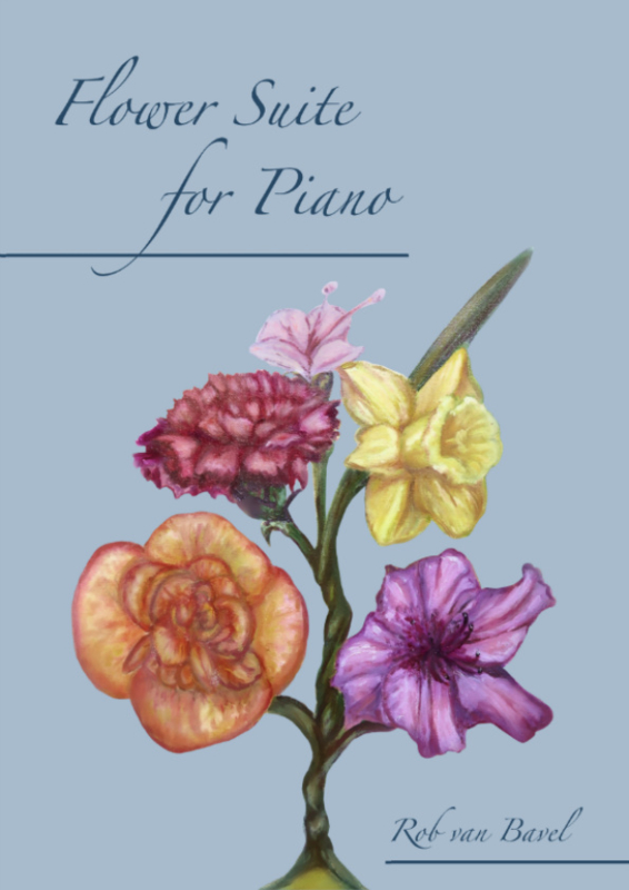 Flowersuite for Piano (book including CD)