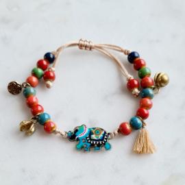 """Dames Armband  """"Love Elephant"""""""