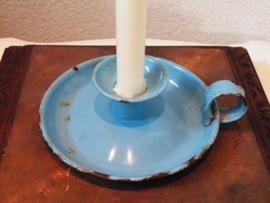 Emaille blaker blauw