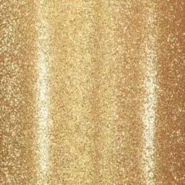 Florence Glitter papier zelfklevend goud x10