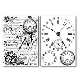 Stamperia Transfer Paper A4 Clocks