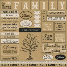 Family sampler kraft