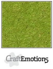 CraftEmotions karton kraft emerald groen 10 vel A4 220GR