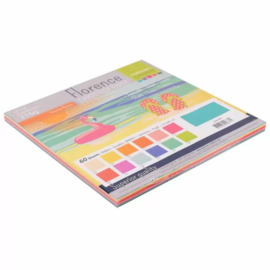 Florence cardstock smooth 30,5x30,5cm. Summer