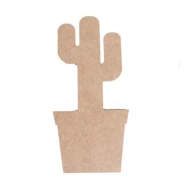 Vaessen Creative, MDF 3D Cactus 20cm