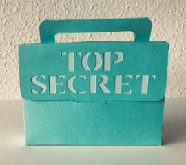Top secret blauw-groen