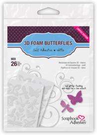 3D butterflies