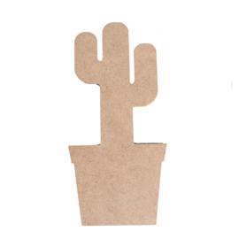 Vaessen Creative , MDF 3D Cactus 40cm