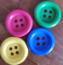 Set van 4 grote clownsknopen