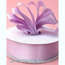 Lint Satijn (4 cm) per meter - Lavendel