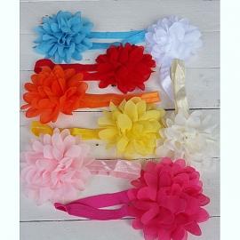 Haarbandje met grote bloem