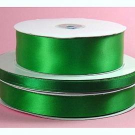 Lint Satijn (1.5 cm) per meter - Emerald Groen