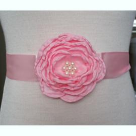 Bloemen Ceintuur 6 Roze
