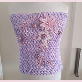 Top M Lavendel bewerkt
