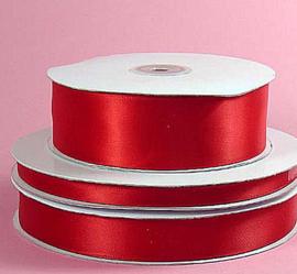 Lint Satijn (4 cm) per meter - Rood