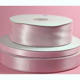 Lint Satijn per meter - Licht Roze