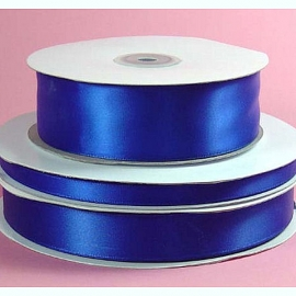 Lint Satijn (1.5 cm) per meter - Koningsblauw