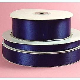 Lint Satijn (4 cm) per meter - Donker blauw