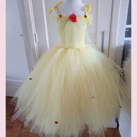 Tule Jurk - Princess in Yellow mt 104/116