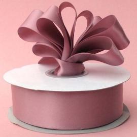 Lint Satijn (1.5 cm) per meter - Oud roze