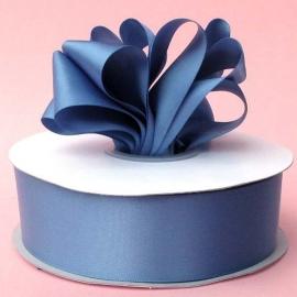 Lint Satijn (2,2 cm) per meter -  Smoke Blue
