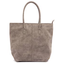 Shopper Kartel met Rits Grey
