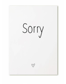 Kaart Sorry
