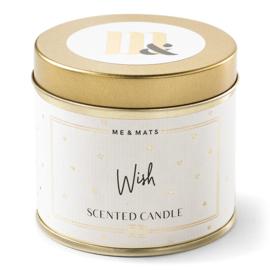 Tin Candle- Wish