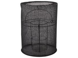 Lantaarn Katoen Zwart 20cm x 29cm