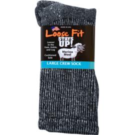 Merino Wol Marled standaard Sok van Loose Fit