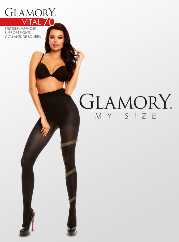 Grote maten steunpanty Vital 70 van Glamory