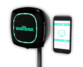 Wallbox Pulsar PLUS Type 1 - Zwart
