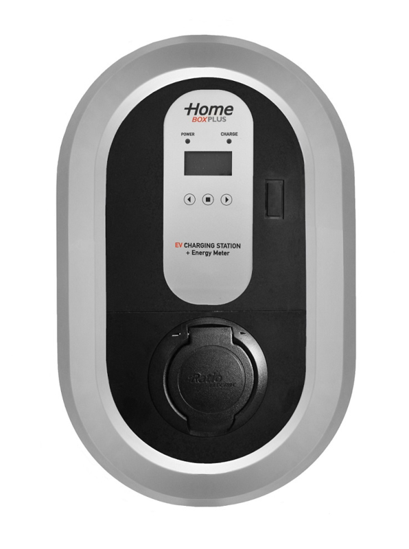 Ratio  Home Box Plus laadpaal 32A/1F - 7,4kW - Outlet