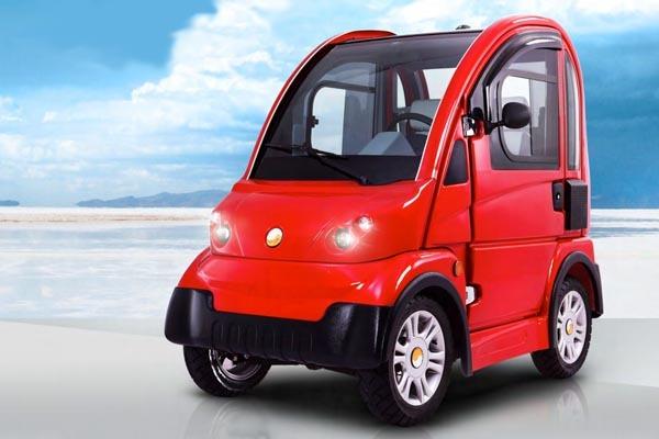 Achensa A100 City Car elektrisch laden laadkabel