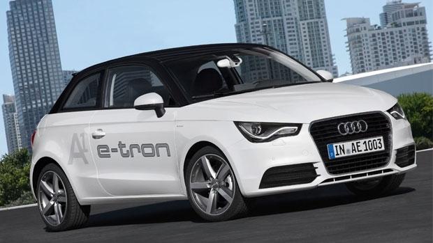 Audi A1 Etron laadkabels laadpalen thuisladers