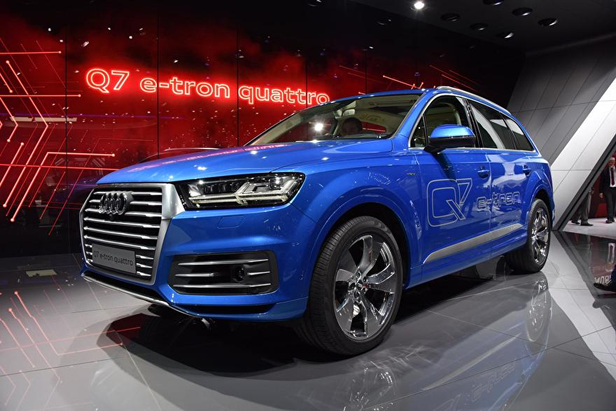 Audi Q7 Etron laadkabels laadpalen thuislader