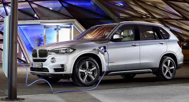 BMW x5 xDrive 40e laadpaal laadkabels thuisladers