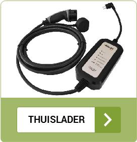 Mobiel thuisladen elektrische auto type 2 - type 1