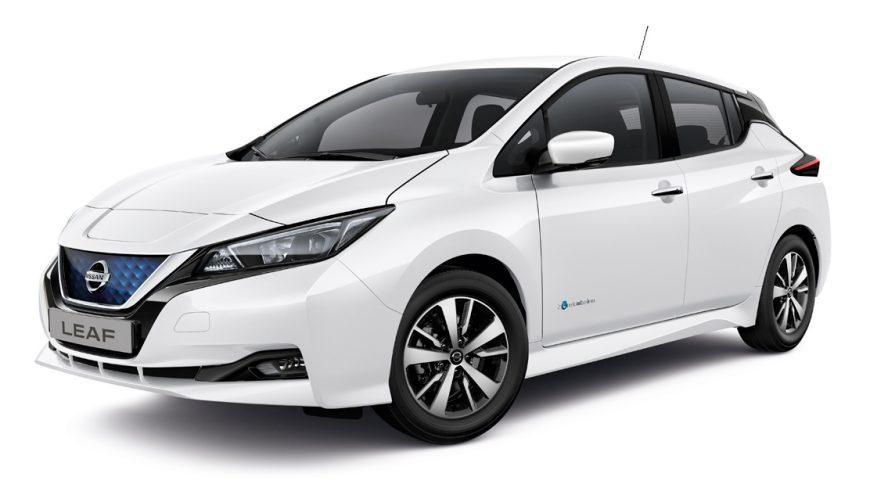 Nissan Leaf vanaf 2018 laadpalen en laadkabels