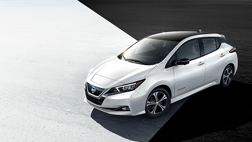 Nissan LEAF e-Plus laadkabels en laadpalen