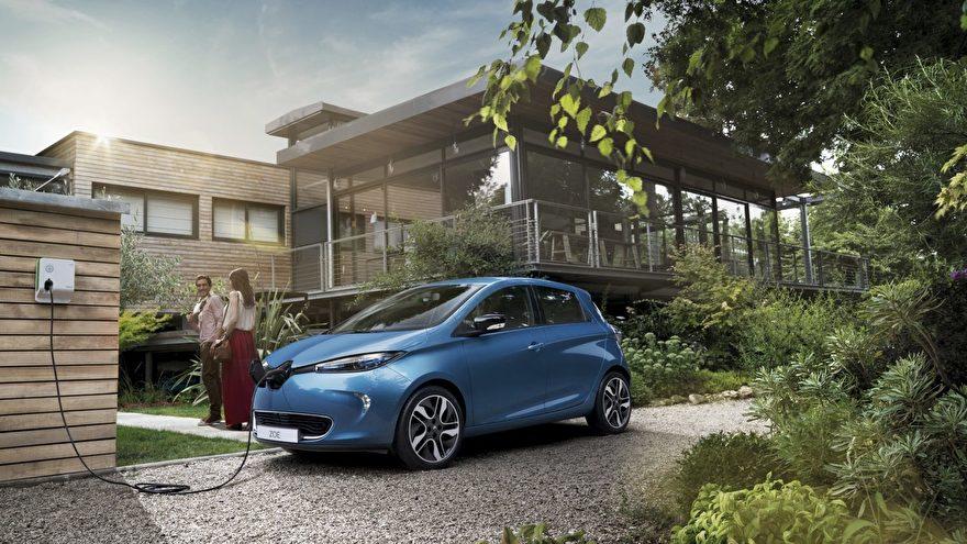 Renault Zoe laden thuis en openbaar laadkabels