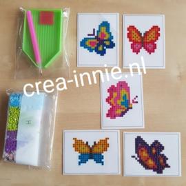 stickers losse vlinders