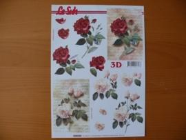 3d knipvel Bloemen Le Suh 4169.724